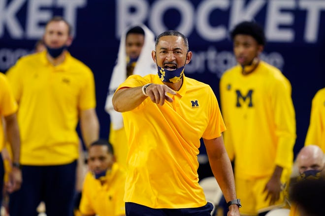 Michigan coach Juwan Howard