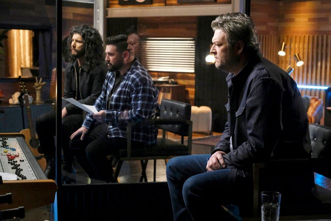 """Dan + Shay are Blake Shelton's musical advisors on """"The Voice"""" during the Battle Rounds."""
