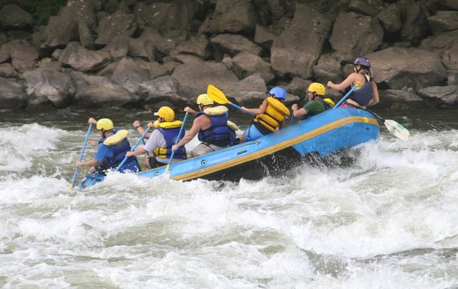 You'll find world-class rafting at West Virginia's New River Gorge National Park.