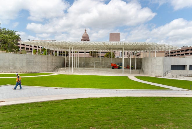The 5,000-guest Moody Amphitheater in Waterloo Park will open in August.