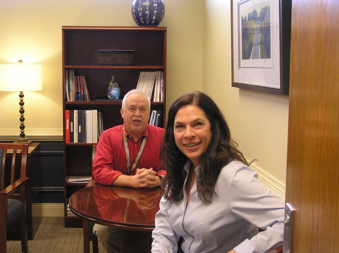 Dr. David Stepp, chair of Physiology at Medical College of Georgia, and Dr. Jennifer Sullivan, interim dean of The Graduate School at Augusta University, are part of a $1.5 million grant to help recruit and train more minority students to become researchers in cardiometabolic diseases.