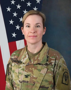 Col. Tiffany Chapman, only the second female to hold the post of Staff Judge Advocate at Fort Polk.
