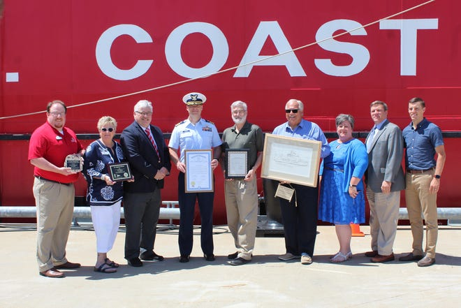 In July of 2019, the City of Cheboygan hosted a special festival to honor the United States Coast Guard's 75th anniversary of being in the city.