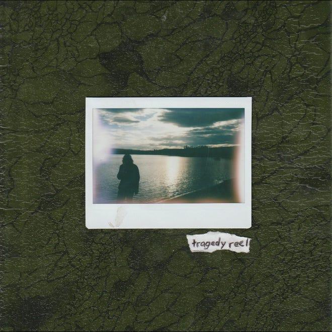 "Cover art for Fog Lake's forthcoming album, ""Tragedy Reel"""