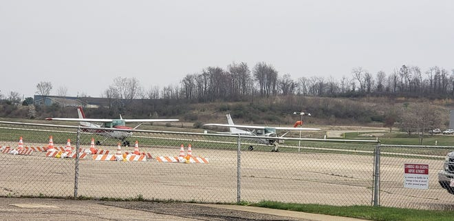 City and County officials met with the FAA team assigned to the Cambridge Municipal Airport on April 6, to discuss airport finances, funding and rehabilitation projects.
