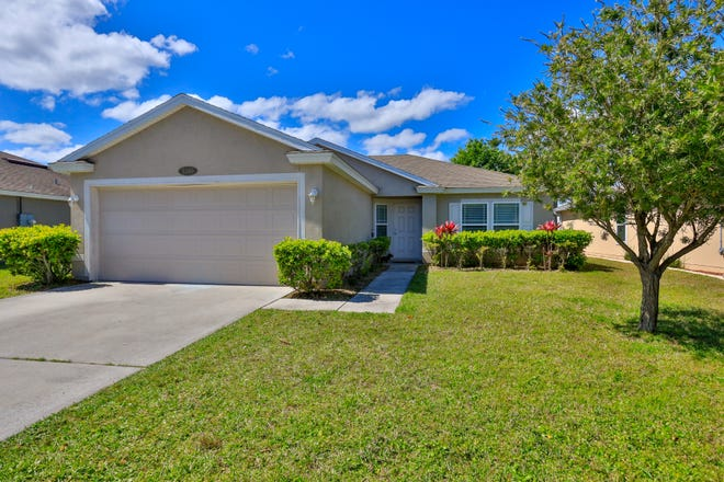 This beautiful waterfront home in Port Orange was built in 2012, which means it's a more energy efficient property.