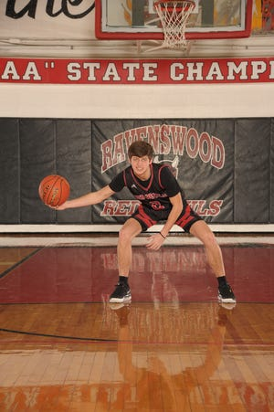 Ravenswood sophomore Matthew Carte enjoyed another big scoring night for Ravenswood by pouring in 27 in a second win of the season over Wahama.