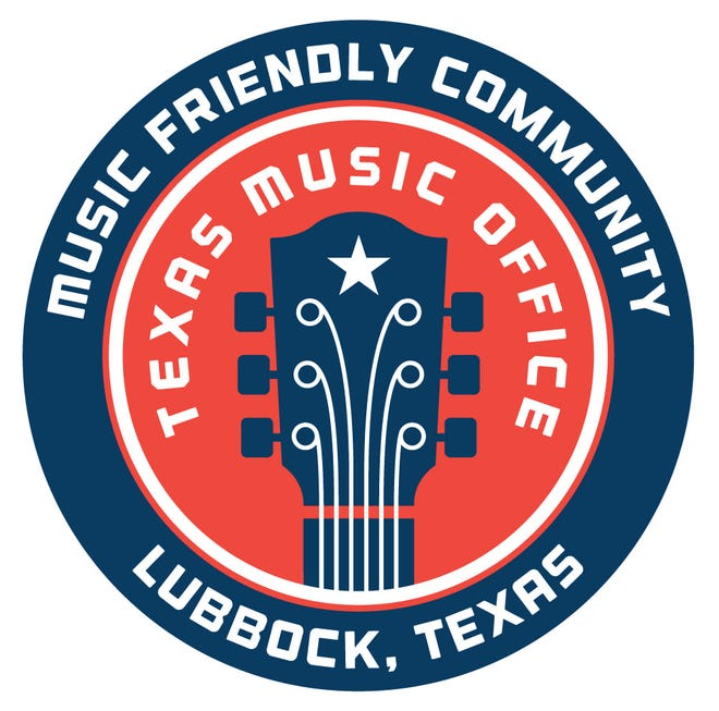 The Texas Music Office named Lubbock a Music Friendly Community.