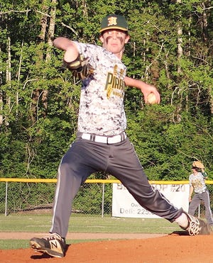 Hayden Doyle pitched four innings and gave up four hits on Saturday for Hicks in a 19-1 win over Mount Hermon.