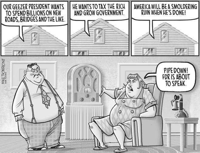A Mike Thompson cartoon