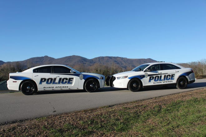Oliver Springs Police Department cars