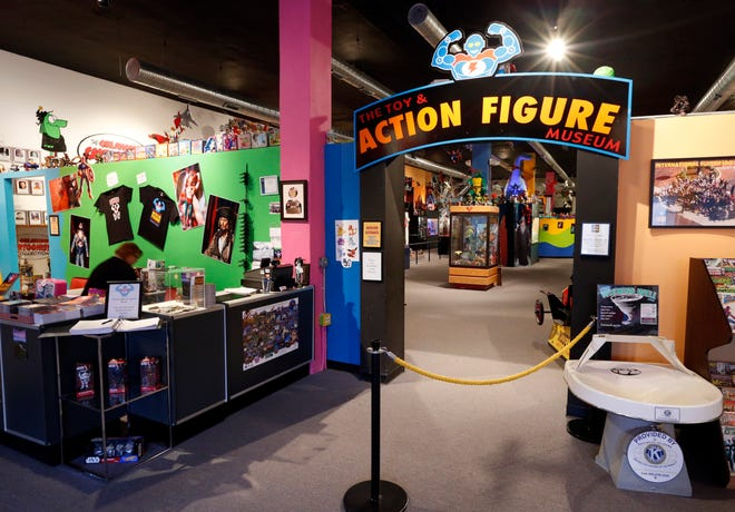 The Toy & Action Figure Museum is in Pauls Valley.