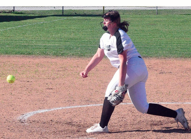 Allie Morales was the winning pitcher in Plaquemine's 17-8 win at Livonia on April 1.