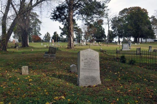 This file photo from 2015 shows the historic People's Memorial Cemetery in Petersburg, VA.