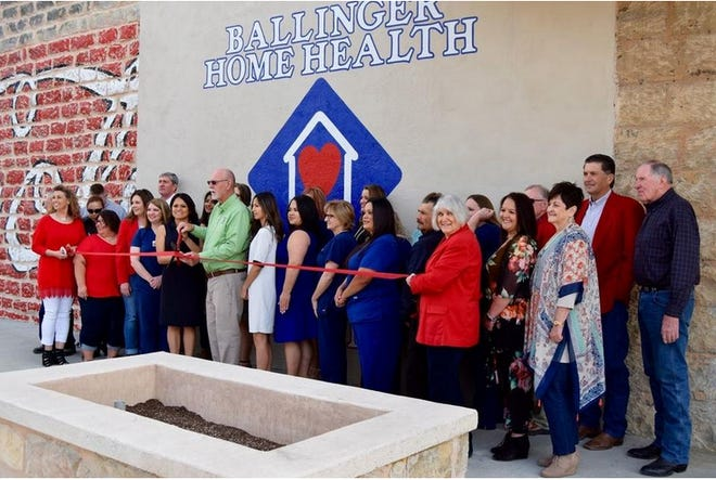David Cowart (green shirt), owner of Ballinger Home Health and Hospice, passed away in an accident at the company's offices located at 9th/Hutchings Avenue in Ballinger on April 6. The company renovated a downtown building, moving to the new location in March 2019.