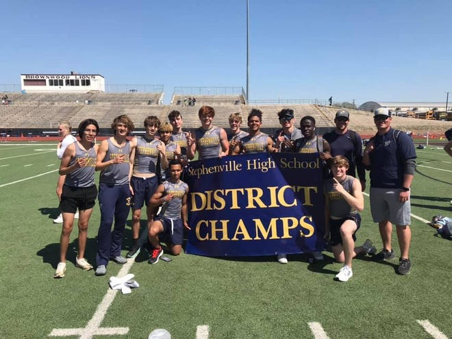 The Stephenville High School Yellow Jackets Track and Field team brought home the District Championship during the district track meet late last week in Brownwood. For more photos on individual winners, see page B3.