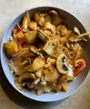 The Three Flavor Fish dish from Magic Kitchen