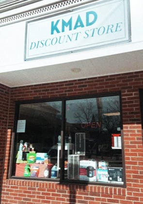 The KMAD Discount Store now has two locations, one in downtown Middleboro and one in Lakeville.