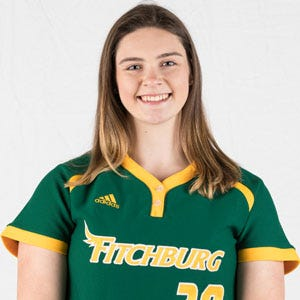 Fitchburg State's Audrey Johnson.