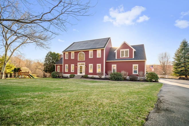 This 3,880-square-foot house at 21 Sean Mikeal Way in Grafton lists for $849,900. View a photo gallery at telegram.com. [Submitted Photo]