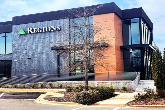 Regions relocates in downtown Tuscaloosa.