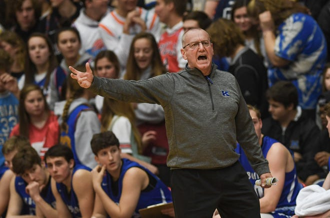 Worthington Kilbourne coach Tom Souder was named co-Coach of the Year in Division I by the Ohio Prep Sportswriters Association.