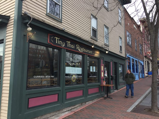 Tiny Thai Restaurant, shown at its 24 Main St. location on April 2, 2021.