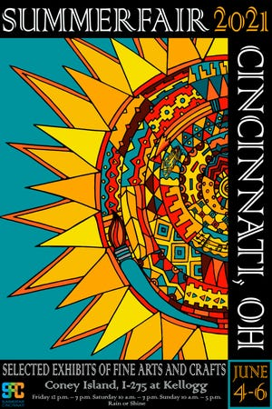 Summerfair Cincinnati 2021 poster.