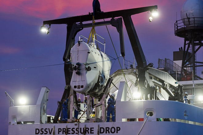 Larry Connor and the team will complete their dives in the state-of-the-art full ocean depth submersible DSV  Limiting Factor.
