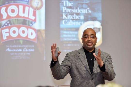 James Beard Book Award Winner Adrian Miller will speak at a Zoom event April 18.
