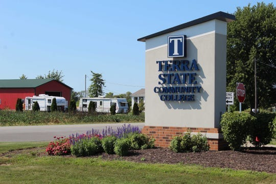 Terra State Community College's marketing department won a national Paragon Award in March.