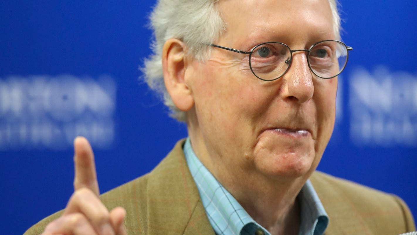 Democrats say Mitch McConnell is back to all-out obstruction. He says that's 'nonsense'