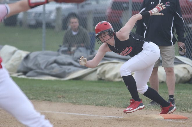 Crestview's Autumn Bailey was named the 2021 Mansfield News Journal Softball Player of the Year.