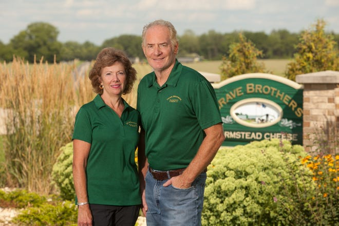 Crave Brothers in Waterloo is a family business for Debbie and George Crave. He is a licensed cheesemaker.