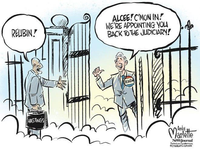 Marlette cartoon: RIP to Florida Congressman Alcee Hastings