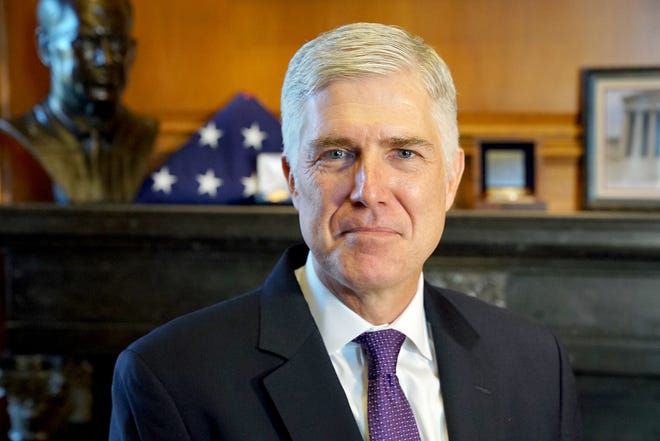 The Bostock v. Clayton County decision, issued by the U.S. Supreme Court in June 2020, was authored by Justice Neil Gorsuch with the support of the court's liberals and, crucially, Chief Justice John Roberts. (Kirk McKoy/Los Angeles Times/TNS)