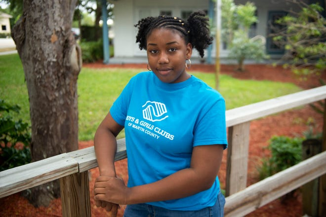 """""""I've always wanted to go to college,"""" said D'Asia Watson, 12, of Stuart, who is one of five students chosen for the Copper Key Promise Program— a collaboration between localnonprofits that mentors stand-out, low-incomemiddle school students and families; provides educational and basic need programs and services; andpurchases a four-year scholarship in the student's name. The nonprofits participating are the Boys & Girls Club of Martin County, where she attends an after school program, The Community FoundationMartin –St. Lucie;House of Hope of Martin County; and Nina Haven Scholarships, Inc."""