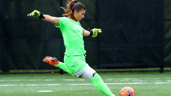 Vineland native and Rowan grad Shelby Money signed a professional contract with Racing Louisville FC this week.