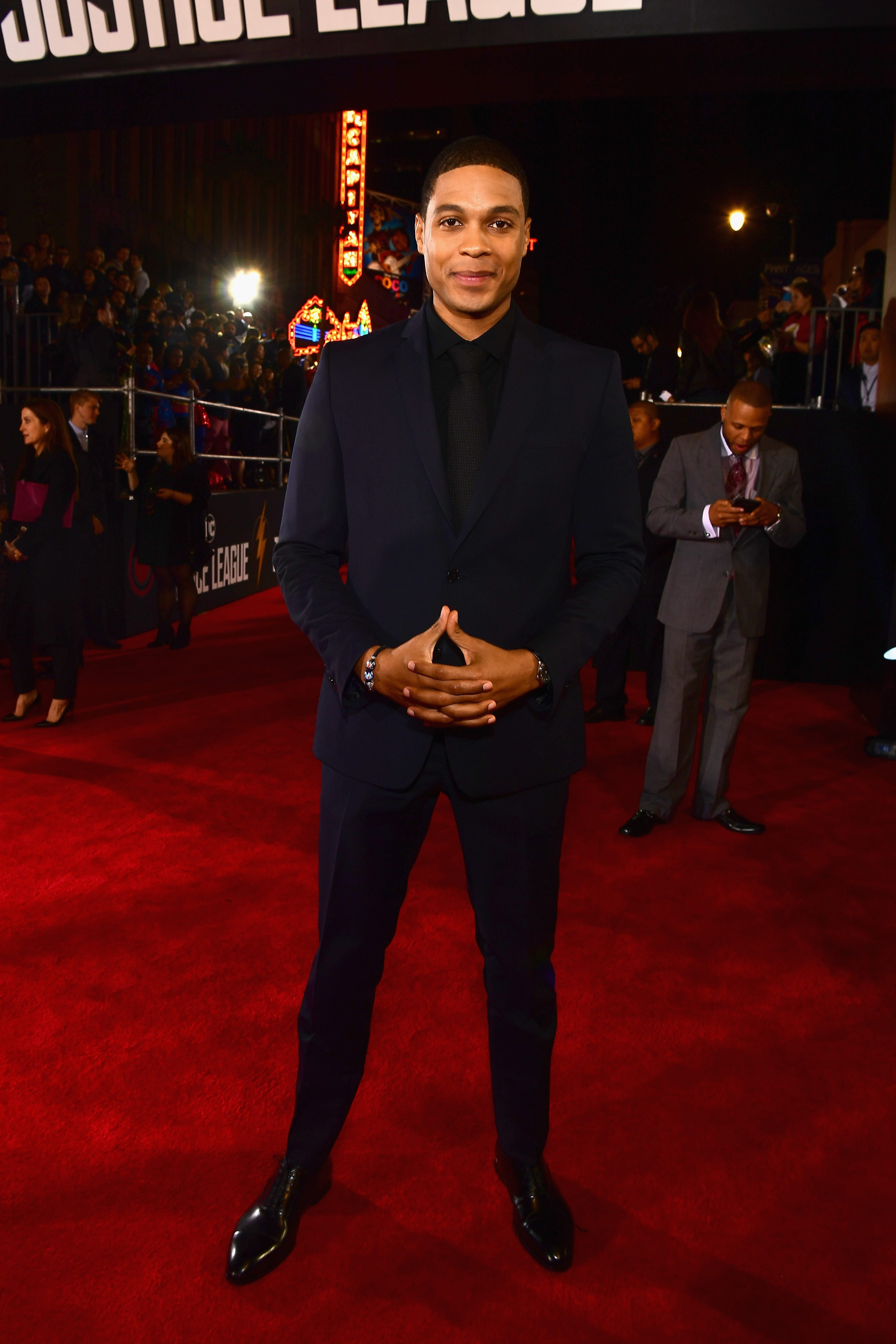 Ray Fisher alleges  Justice League  execs didn t want  angry Black man  at film s center