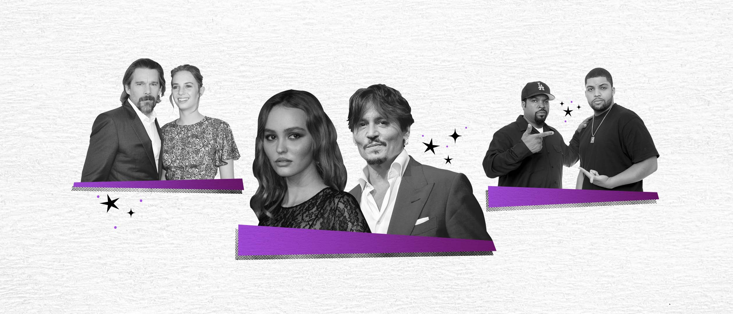 Voyagers  star Lily-Rose Depp leads a new wave of rising stars with famous parents