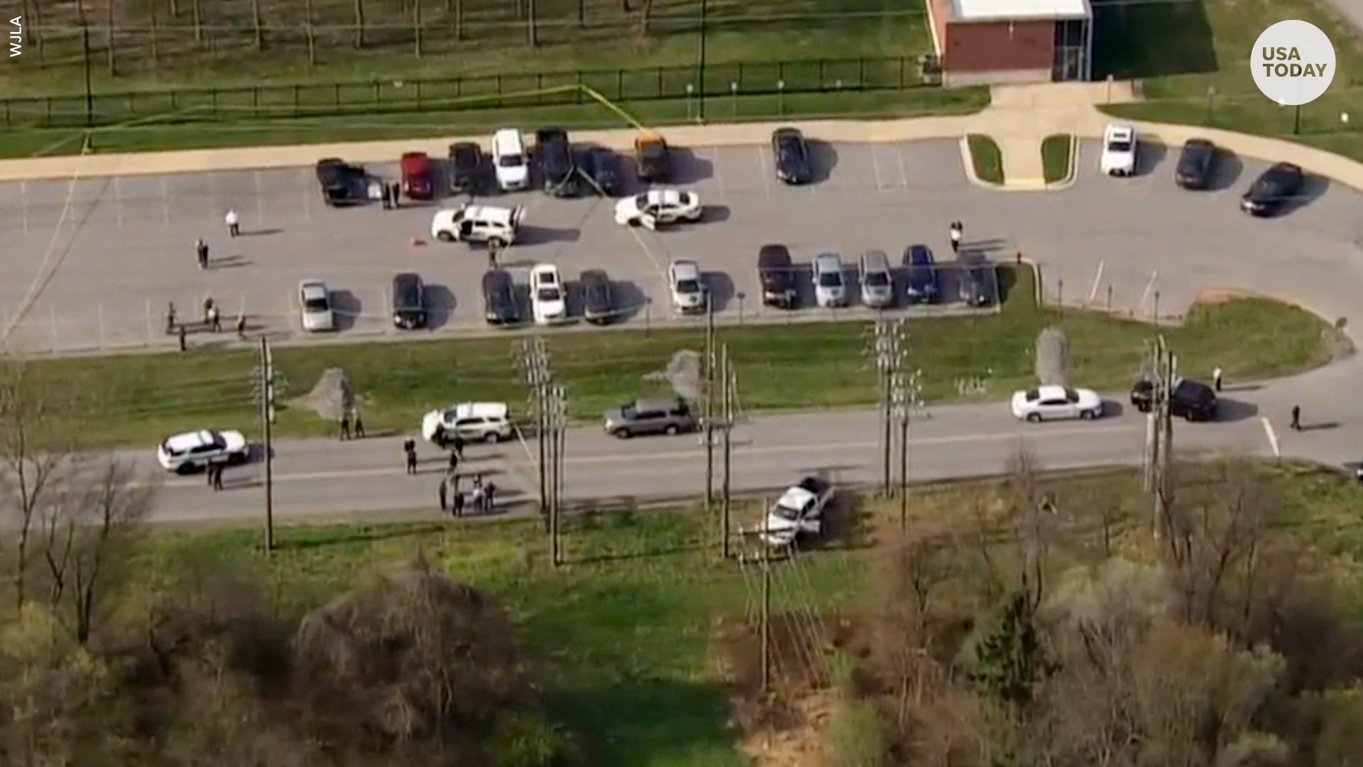 Suspect shot dead at military base after shooting two people in Maryland