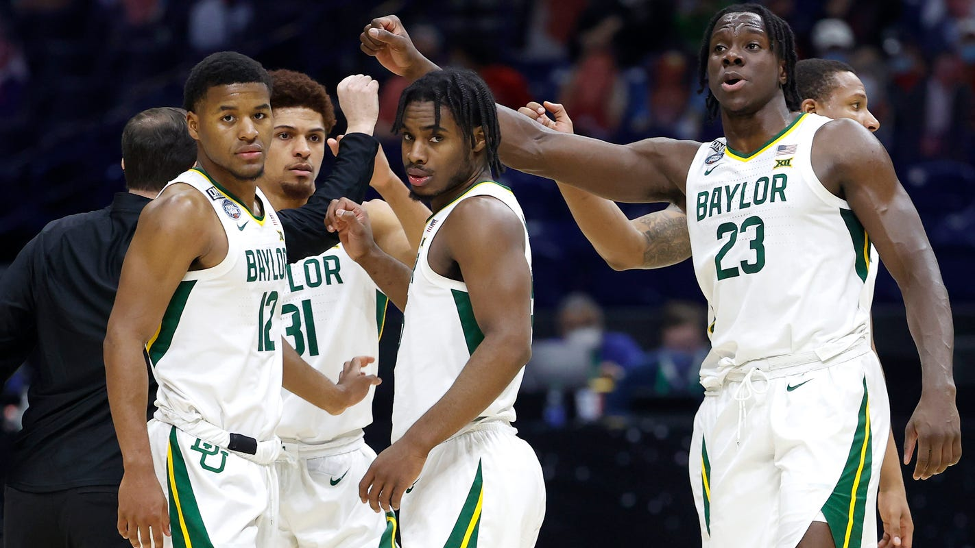 'They made us pay': Baylor's guard trio keys men's national championship over Gonzaga – USA TODAY