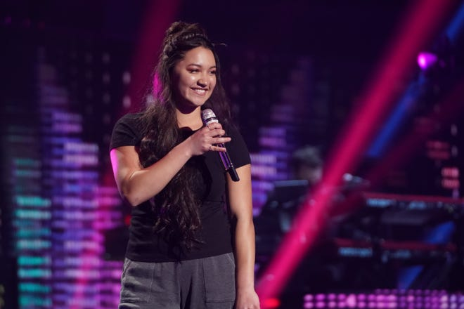 """Liahona Olayan performed Audrey Mika's """"Just Friends"""" on Monday's """"American Idol"""" Top 24 show."""