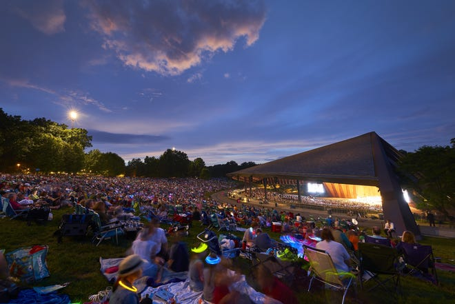 Social distancing and physical tickets will be a thing of the past when concerts return to Blossom Music Center in 2021.