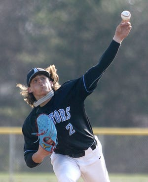 Alliance pitcher Gavin Bruni has been named Eastern Buckeye Conference player of the year for baseball.