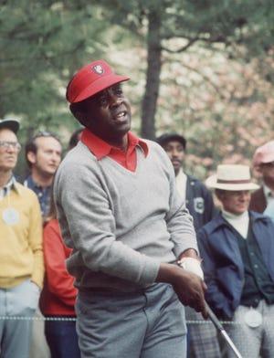 Lee Elder at the 1975 Masters.