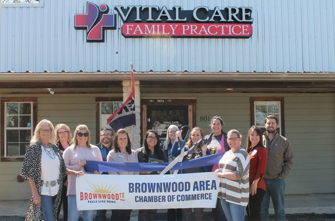 The Brownwood Area Chamber of Commerce held a ribbon cutting for Vital Care Family Practice, 801 Early Blvd. in Early.  Amanda Gentry MSN, APRN, FNP-C is board certified by the American Association of Nurse Practitioners as an Advanced Practice Nurse in family medicine. At Vital Care Family Practice, Gentry has a passion for building a healthier community. The office is y accepting new patients. Vital Care Family Practice offers sports physicals, employee health screenings, laceration repair and yearly health screenings. X-ray and lab are available. The office is  open 8-5 p.m. Monday - Friday. For more information, call (325) 430-0060 or stop by 801 Early Blvd. #200, Early, Texas 76802.