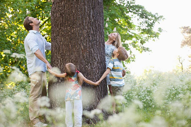Project Learning Tree, offers many free resources online for using environmental surroundings to teach kids and get them excited about nature.
