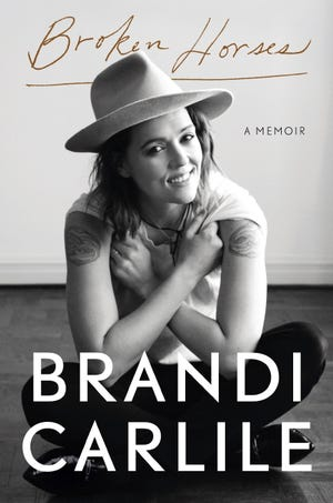 """This cover image released by Crown shows """"Broken Horses"""" by Brandi Carlile. (Crown via AP)"""