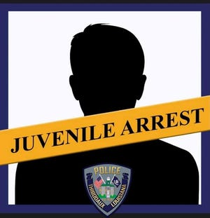 Juvenile arrest.